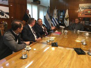 La Cumbre de Mercociudades que se realizará en CBA, tema de la reunión de Lábaque y el embajador de Uruguay
