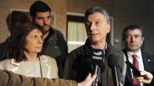 Caso Maldonado: Mauricio Macri respaldó a Patricia Bullrich