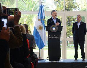 """La detención del """"Pata"""" Medina, """"no es un accidente"""", afirmó Macri"""