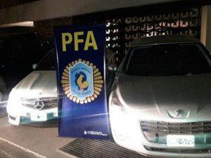 """La increíble flota de vehículos que le incautaron al """"Pata"""" Medina"""