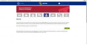 Rentas simplifica el servicio del pago de sellado vía web