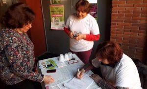 Ecodaic promocionó la donación de órganos durante las elecciones