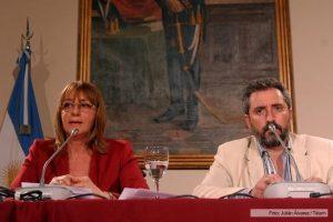 Fresneda atribuyó la renuncia de Gils Carbó ante «tantas amenazas del Gobierno nacional»