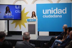 """CFK advirtió que encabeza """"la lista negra"""" de Macri"""