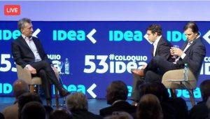 """Macri les pidió a los empresarios invertir y a los sindicalistas """"aceptar alguna flexibilidad"""""""