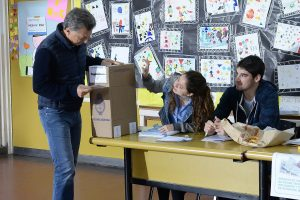Tras votar, Macri se refirió al caso Maldonado y envió sus condolencias a la familia
