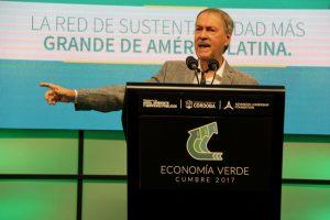 """Schiaretti destacó que hay """"oportunidades de negocio en la economía sustentable"""""""