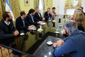 Macri se reunió con emprendedores de actividades culturales