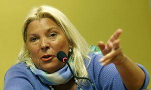 """Carrió afirmó que trabaja en """"juicios de revisión"""" para liberar genocidas"""