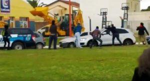 Detuvieron a un docente por la agresión a Macri en Santa Rosa