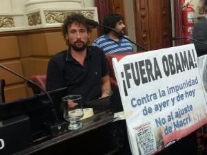 """Para la Izquierda, Obama viene a Córdoba para """"avalar el saqueo ambiental"""""""