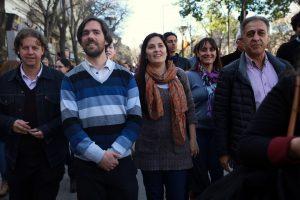 """Del Caño advirtió que """"muchos de Unidad Ciudadana"""" se preparan para darle más leyes a Macri"""