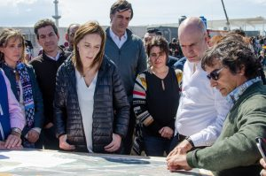 """Junto a Vidal, Larreta sostuvo que el voto """"es un impulso para seguir trabajando y realizando obras"""""""