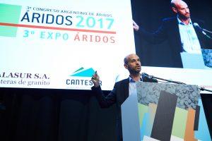 En el Congreso Argentino del Árido, Dietrich instó a los empresarios mineros a que inviertan