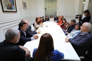 """Para el frente político que lidera CFK, la democracia """"está en riesgo"""""""
