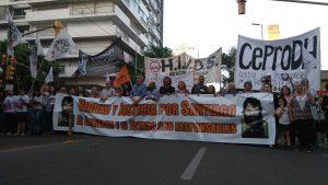 Como en gran parte del país, en Córdoba una masiva marcha exigió justicia por Santiago Maldonado