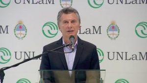 Macri volvió a apuntar a la creación de empleo para reducir la pobreza