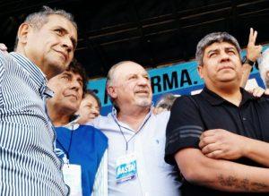 """""""Quieren un país sin sindicatos"""", advirtió Hugo Yasky en la protesta frente al Congreso"""