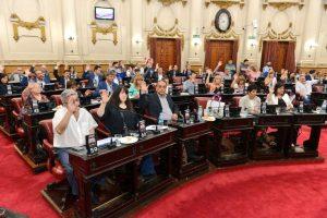 Calvo defendió el Presupuesto 2018 aprobado en primera lectura por el oficialismo