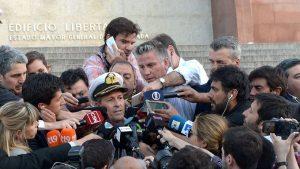 """""""Hubo un evento singular consistente con una explosión"""", informó la Armada Argentina"""