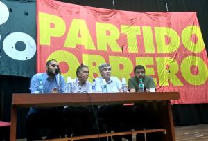 """Pitrola: """"Está  en marcha un plan de guerra contra la clase obrera argentina"""""""