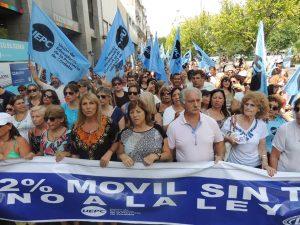 Los docentes cordobeses se suman al paro nacional en rechazo a las reformas de Macri