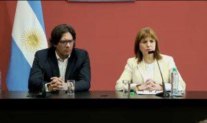 Bullrich respaldó el accionar de las fuerzas de seguridad en Villa Mascardi