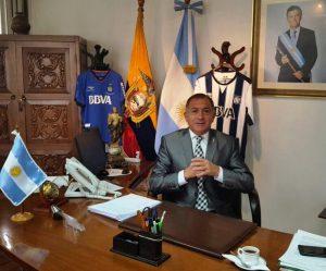 """Tras la ofensa a los ecuatorianos, Juez admitió que Macri """"no debe estar contento"""""""