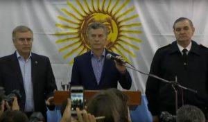 """Hasta que no se tenga la """"información completa"""", Macri dijo que no hay que aventurarse a buscar culpables"""