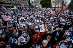 La Izquierda espera que sean miles de personas en la marcha de hoy que exigan justicia por Santiago Maldonado