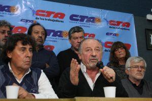 """Al rechazar el acuerdo Gobierno-CGT, desde las CTA hablaron de """"traición"""" a los trabajadores"""