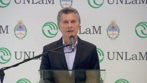 """Macri afirmó que CFK """"tiene que rendir cuentas frente a la Justicia"""""""