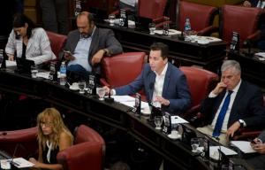 """Unicameral: Calvo cuestionó a Mestre por buscar """"posicionamiento político"""" en el reclamo por los recursos a municipios"""
