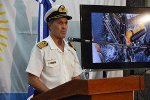 La Armada confirmó que la huella a 477 metros no es del submarino