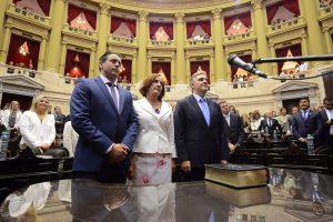 Tras jurar como diputado, Llaryora fue designado vicepresidente de la Cámara