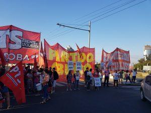 Agrupaciones de Izquierda rechazaron la reforma jubilatoria con cortes de puentes en la Capital cordobesa