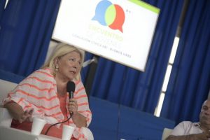 Reforma Previsional: Carrió defendió la iniciativa del Gobierno macrista y Tundis llamó a votar por el no