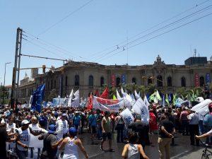 El paro en rechazo a la reforma previsional ya se siente en Córdoba