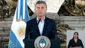 """Macri defendió la reforma jubilatoria y habló de """"violencia orquestada"""""""