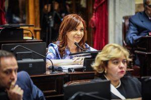 La senadora CFK se defendió de las acusaciones en su contra por el Memorándum con Irán
