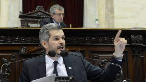 """Peña defendió la reforma previsional y espera que la CGT no sea """"funcional"""" al Kirchnerismo"""