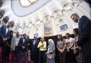 La Unicameral homenajeó a las Abuelas de Plaza de Mayo e instituyó premio a la trayectoria en DD.HH