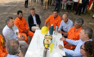 """Córdoba es mi provincia"", dijo Macri en su visita a San Francisco junto a Schiaretti"