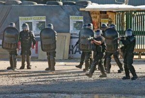 Dirigentes de izquierda repudiaron la represión en Neuquén a trabajadores madereros