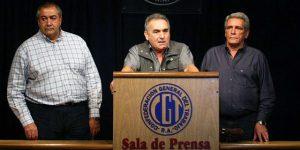 """La CGT rechazó los despidos y la represión que """"pretenda acallar la protesta social"""""""