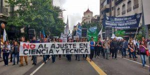 Científicos otra vez en las calles, para una nueva jornada de protesta