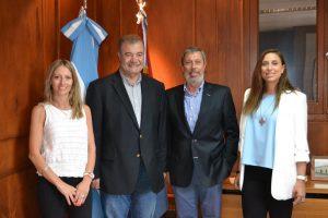 Directivos de Protectia se reunieron con Fortuna para avanzar en proyectos vinculados a las células madres