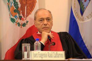 """""""Quisiera que este gobierno se fuera lo antes posible"""", dijo Zaffaroni"""