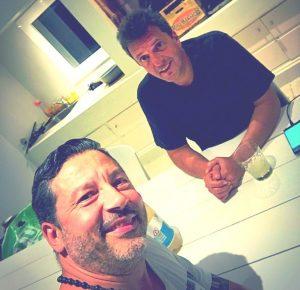 El jefe del PJ bonaerense se reunió con Massa en Pinamar