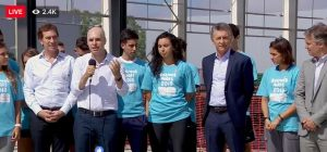 """Tras retornar a la actividad oficial, Macri habló de """"volver a crecer"""" y de terminar con la corrupción"""